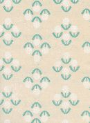 Cotton and Steel Cotton Fabric  Teal