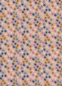 Cotton and Steel Cotton Fabric  Peachy