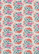 Cotton and Steel Cotton Fabric  Tangerine