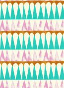 Cotton and Steel Cotton Fabric  Pink