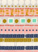 Cotton and Steel Cotton Fabric  Earth