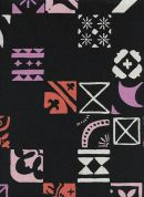 Cotton and Steel Cotton & Linen Canvas Fabric  Midnight