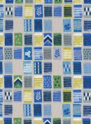 Cotton and Steel Cotton Fabric  Blue