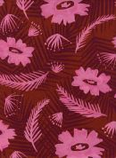 Cotton and Steel Rayon Fabric  Pink