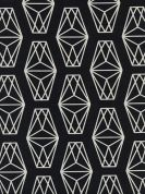 Cotton and Steel Cotton Fabric  Black