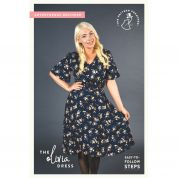 The Pattern Preacher Sewing Pattern Olivia Dress