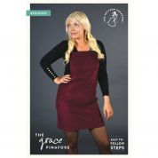 The Pattern Preacher Sewing Pattern Grace Pinafore Dress