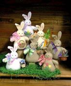 Countryside Crafts Easy Sewing Pattern Bunches Of Bunnies