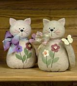Countryside Crafts Easy Sewing Pattern Here Kitty, Kitty