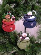 Countryside Crafts Easy Sewing Pattern Goodies From Santa Ornaments