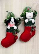 Countryside Crafts Easy Sewing Pattern Puppy & Kitten Ornaments