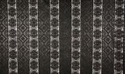 Lace Faux Leather Fabric  Black