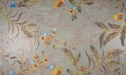 Embroidered Lace Tulle Fabric  Multicoloured