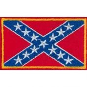 Flag Patch Motif  Red & Blue
