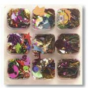 Impex Assorted Shape Craft Sequins  Assorted Colours