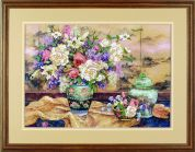 Dimensions Crewel Embroidery Kit Oriental Splendor