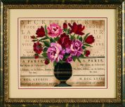 Dimensions Crewel Embroidery Kit Parisian Bouquet