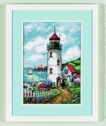 Dimensions Needlepoint Quilt Kit Lighthouse Cove