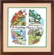 Dimensions Stamped Cross Stitch Kit A Season for Everything