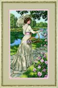 Dimensions Cross Stitch Kit A Summer Stroll