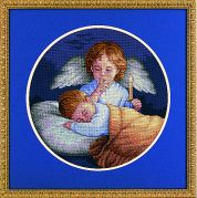 Dimensions Counted Cross Stitch Kit Angelic Guardian