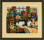 Dimensions Cross Stitch Kit Maggie The Messmaker