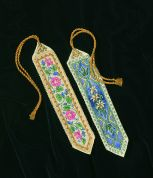Dimensions Counted Cross Stitch Petite Kit Pk2 Elegant Bookmarks