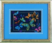 Dimensions Counted Cross Stitch Petite Kit Exotic Butterflies