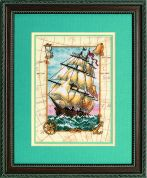 Dimensions Counted Cross Stitch Petite Kit Voyage at Sea