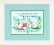 Dimensions Counted Cross Stitch Kit Adjusting Our Sails