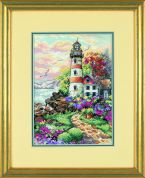 Dimensions Counted Cross Stitch Petite Kit Beacon at Daybreak