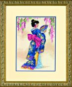 Dimensions Counted Cross Stitch Petite Kit Elegant Geisha