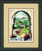 Dimensions Counted Cross Stitch Petite Kit Dreaming of Tuscany