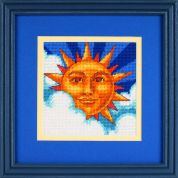 Dimensions Needlepoint Kit Celestial Sun