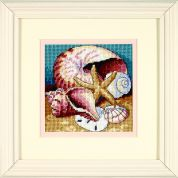 Dimensions Needlepoint Kit Shell Collage