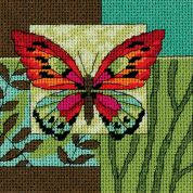 Dimensions Needlepoint Kit Butterfly Impression