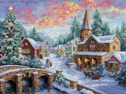 Dimensions Cross Stitch Kit Holiday Village