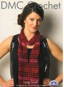 DMC Ladies Long Scarf Petra Crochet Pattern