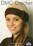 DMC Ladies Beaded Trim Hat Petra Crochet Pattern