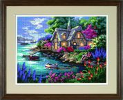 Sunset Needlepoint Kit Cottage Cove