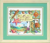 Sunset Counted Cross Stitch Kit Simple Treasures