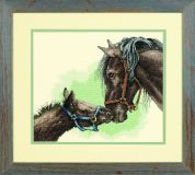 Sunset Counted Cross Stitch Kit Mother & Colt