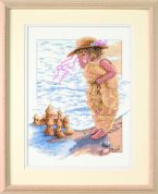 Sunset Counted Cross Stitch Kit Sandcastle Dreams