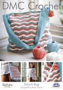 DMC Accessories Slouch Bag Natura Crochet Pattern  4 Ply