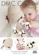 DMC Baby Bumble Bee Mobile Petra Crochet Pattern