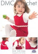 DMC Girls Shift Dress Petra Crochet Pattern