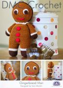 DMC Gingerbread Man Toys Natura Crochet Pattern  4 Ply