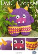 DMC Monster Toy Amigurumi Crochet Pattern