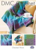 DMC Home Checked Throw Crochet Pattern