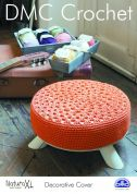 DMC Decorative Pouffe Cover Natura Crochet Pattern  Super Chunky